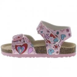 Pink Step Cozy Patik Sandalet