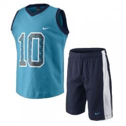 Nike Sun Sport Knit Set (Tişört-Şort) Çocuk Takım