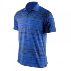 Nike Advantage Stripe Dri-Fit Cotton Polo Yaka Erkek Tişört