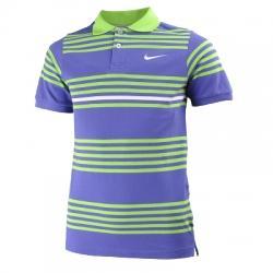 Nike Club Campus Stripe Polo Yaka Çocuk Tişörtü