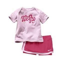 Nike Girls Slam Knit Set (Tişört-Şort) Çocuk Takım