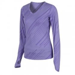 Nike Printed V Neck Top Sweatshirt
