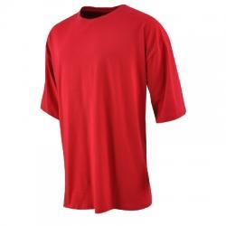 Barcin Basics Sıfır Yaka Büyük Beden Tişört