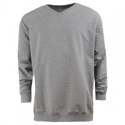 Barcin Basics Erkek V Yaka Büyük Beden Sweatshirt
