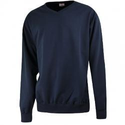 Barcin Basics Erkek V Yaka Büyük Beden Sweat Shirt