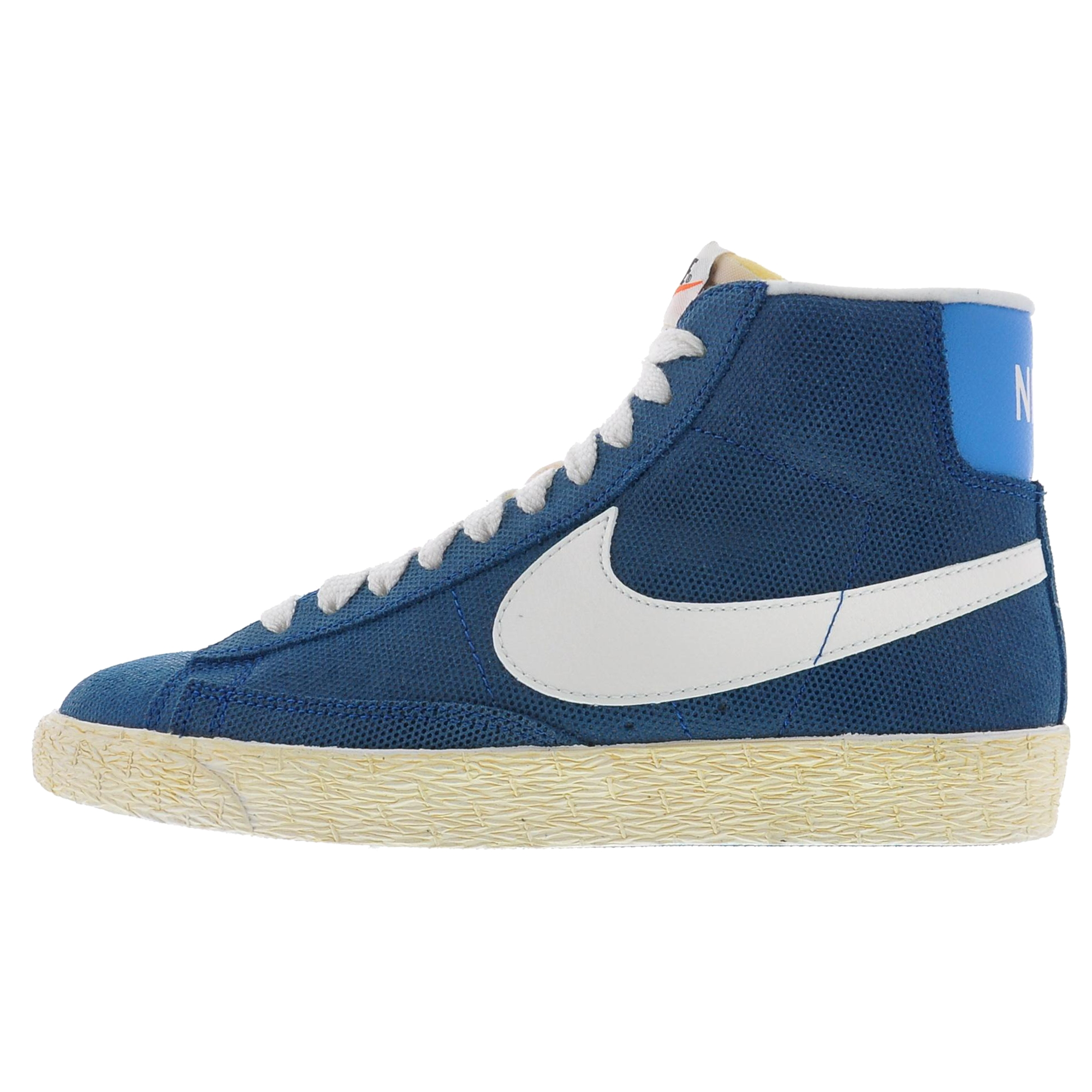 original nike blazer mid vintage damen blau wei pictures. Black Bedroom Furniture Sets. Home Design Ideas
