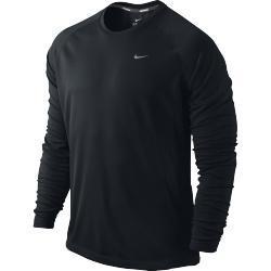 Nike Miler Uv Uzun Kollu Erkek Tişört