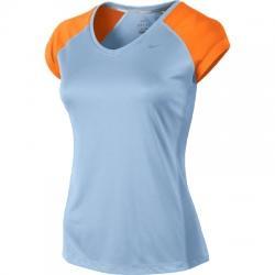 Nike Miler Ss V-neck Top Bayan Tişört