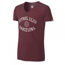 Fc Barcelona New Covert Vintage V Neck Erkek Tişört