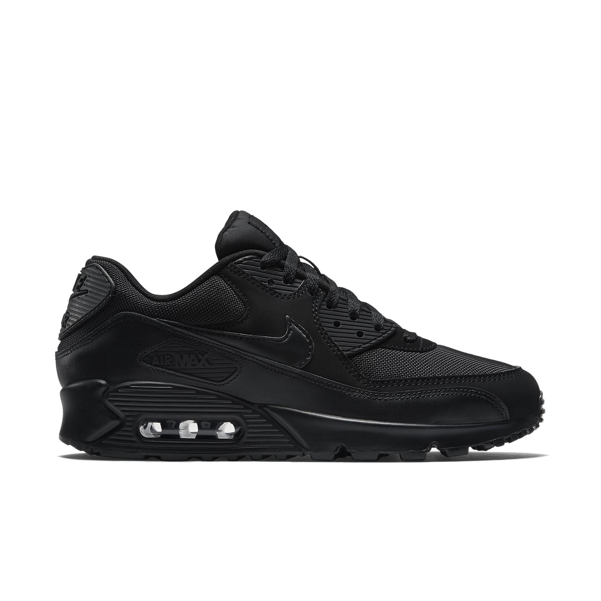 Nike Air Max 90 Essential Erkek Siyah Sneaker Erkek Spor
