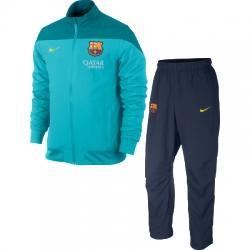 Fc Barcelona Squad Woven Warm Up Erkek Eşofman Takımı