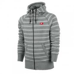 Nike Aw77 Fz Hoody Stripe Kapüşonlu Erkek Ceket