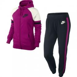 Nike Half Timer Hooded Warm Up Kapüşonlu Bayan Eşofman Takımı