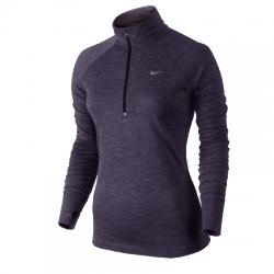 Nike Dri-Fit Wool 1/2 Zip Uzun Kollu Bayan Tişört