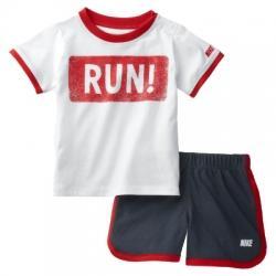 Nike Running Set Çocuk Tişört-Şort Takım