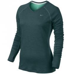 Nike Dri-fit Wool V-neck Top Uzun Kollu Tişört