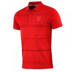 Puma Ferrari Polo Yaka Erkek Tişört