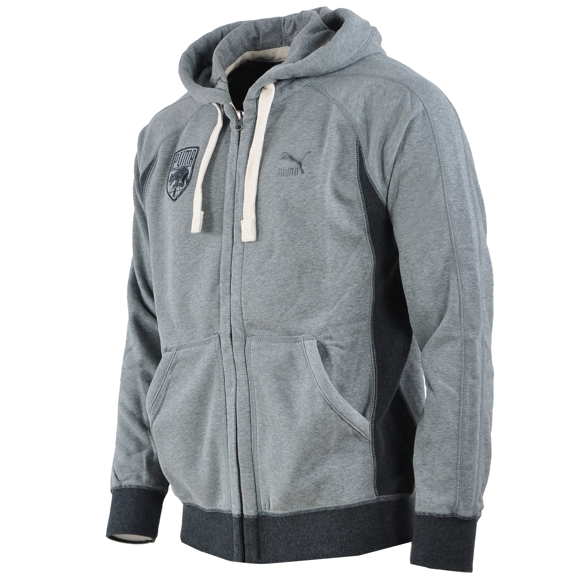 Puma Varsity Zip Through Erkek Kap Onlu Sweat Shirt