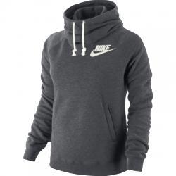 Nike Rally Funnel Neck Hoodie Kapüşonlu Bayan Sweat Shirt