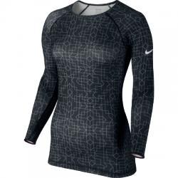Nike Pro Hyperwarm Crew II Prt Uzun Kollu Tişört