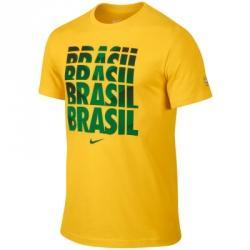 Nike Cbf Brasil Core Type Tee Tişört