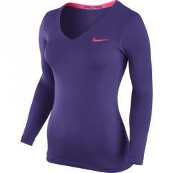 Nike Pro Ls V-neck Uzun Kollu Tişört