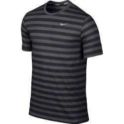 Nike Dri-Fit Touch Tailwind Ss Striped Tişört