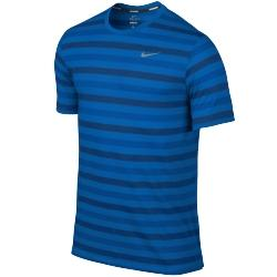 Nike Dri-fit Touch Tailwind Ss Striped Tişört