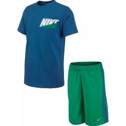 Ms Knit Set Lk Çocuk Tişört-Şort Takım