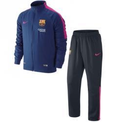 Nike Fc Barcelona Squad Sdln Woven Warm Up Eşofman Takımı