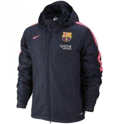 Nike Fc Barcelona Squad Sf1 Rain Kapüşonlu Ceket
