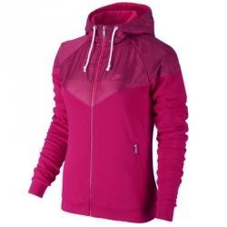Fleece Mix Run Wr Kapüşonlu Ceket