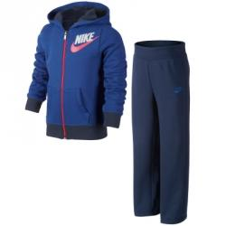 Nike Gfx Ft Cuffed Warm Up Lk Kapüşonlu Eşofman Takımı