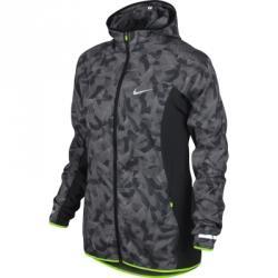 Printed Trail Kiger Kapüşonlu Ceket