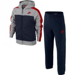 Nike Franchise Bf Cuffed Warm Up Kapüşonlu Çocuk Eşofman Takımı