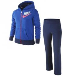 Nike Girls Sb Cuffed Warm Up Kapüşonlu Eşofman Takımı