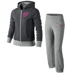 Nike Hbr Sb Cuffed Warm Up Kapüşonlu Çocuk Eşofman Takımı