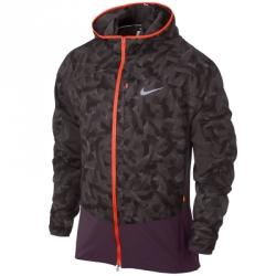 Nike Printed Trail Kiger Kapüşonlu Ceket