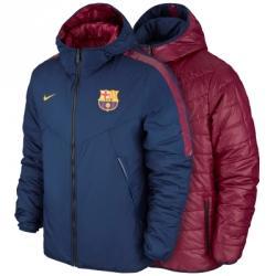 Nike Fc Barcelona Core Padded Çift Taraflı Kapüşonlu Ceket