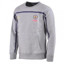 Nike Fenerbahçe Ülker Authentic Fleece Crew Erkek Sweat Shirt