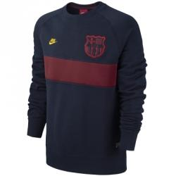 Nike Aw77 Fc Barcelona Covert Crew Sweat Shirt