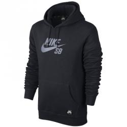 Nike Sb Po Reflective Icon Hoodie Kapüşonlu Sweat Shirt