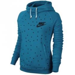 Nike Rally Funnel Hoodie Aop Kapüşonlu Sweatshirt