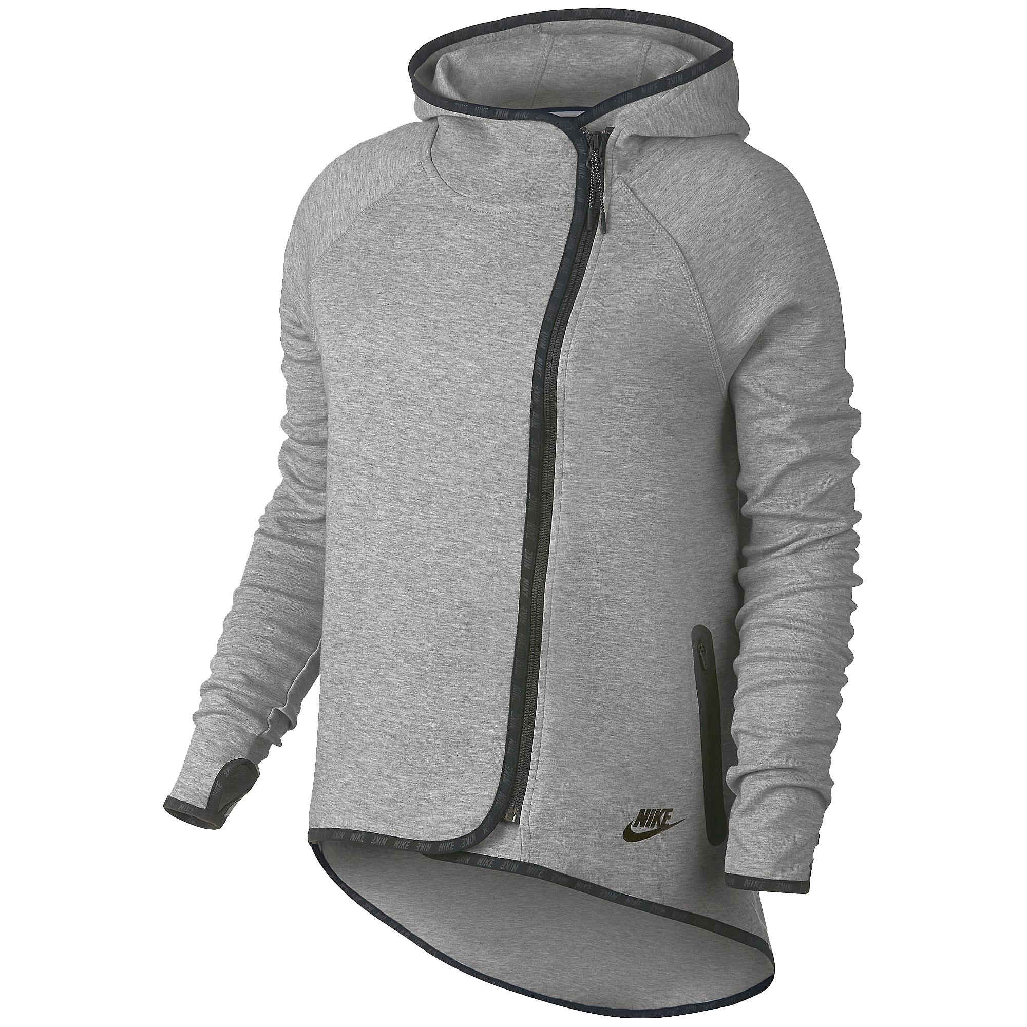 nike tech fleece cape ceket 669613 063. Black Bedroom Furniture Sets. Home Design Ideas