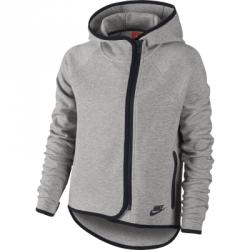 Nike Tech Fleece Fz Cape Hoodie Çocuk Kapüşonlu Sweat Shirt
