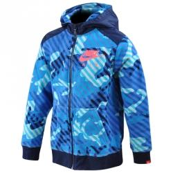 Nike Ya76 Camo Bf Fz Hoodie Çocuk Kapüşonlu Ceket