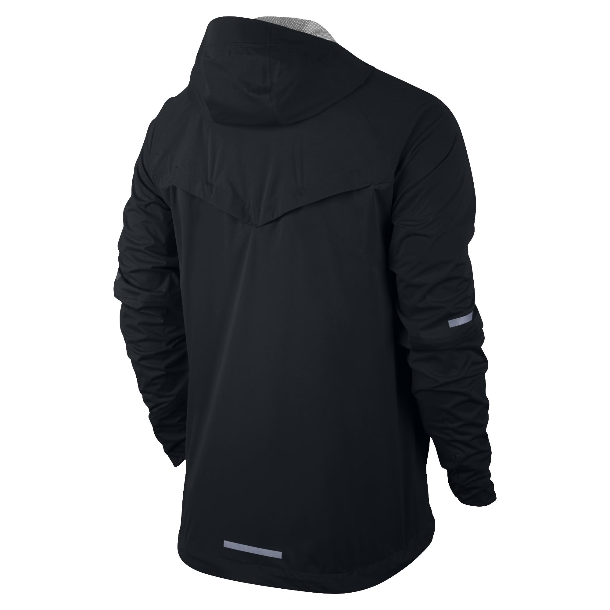 6da6fd3c301d Nike Shield Runner Jacket Kapüşonlu Erkek Ceket  689473-010 - Barcin.com