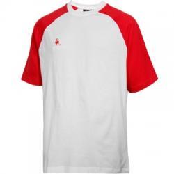 Le Coq Sportif Erkek sıfır Yaka Tişört