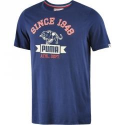Puma Style Athletic Peacoat Tee Tişört