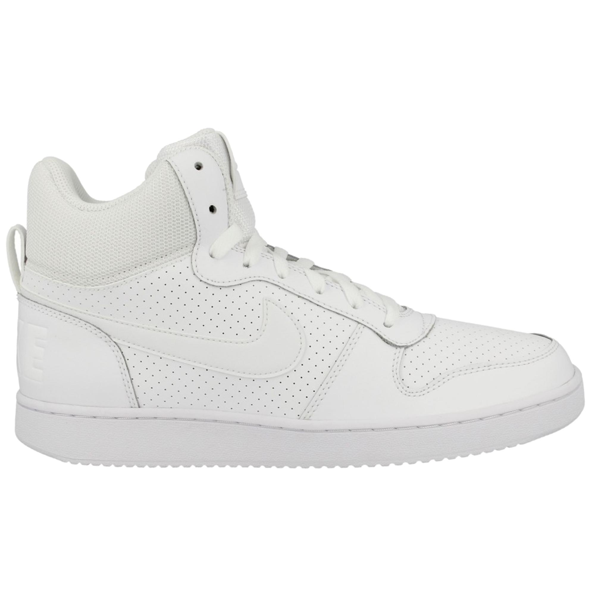 Nike Erkek Ayakkabı Court Borough Mid 838938-111